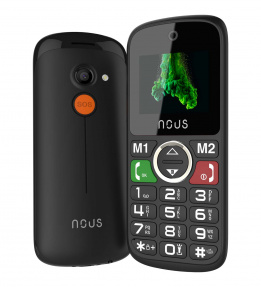 Telefon dla seniora Helper Mini (NS1736) Black