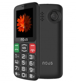Telefon dla seniora Helper Classic (NS2415) Black