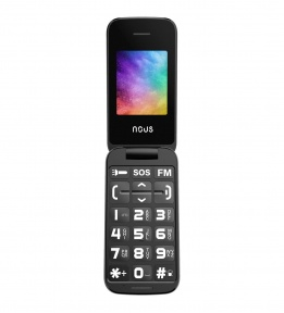 Telefon dla seniora Helper Flip (NS2435) Black